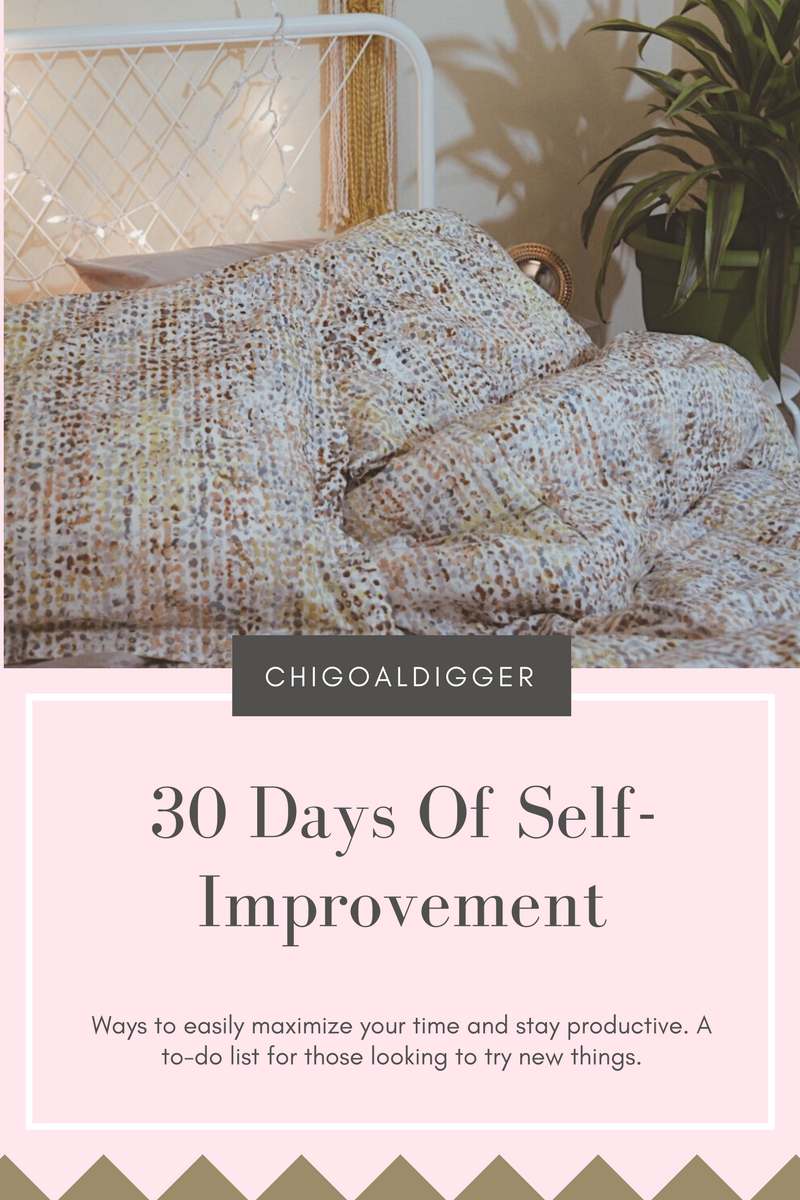 30 Days Of Self Improvement