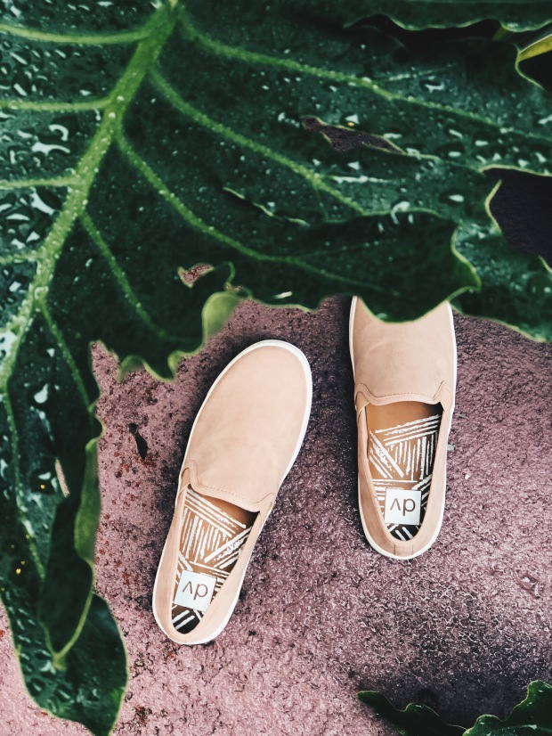 target blush slip on shoes