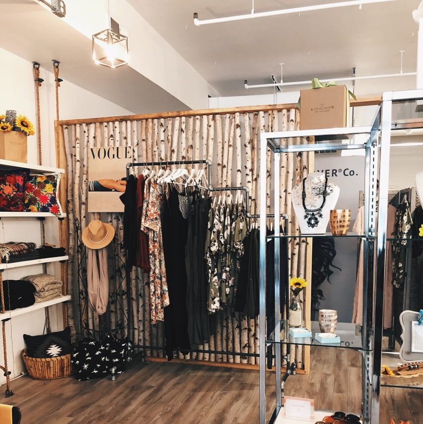 shopping boutique downtown lifestyle