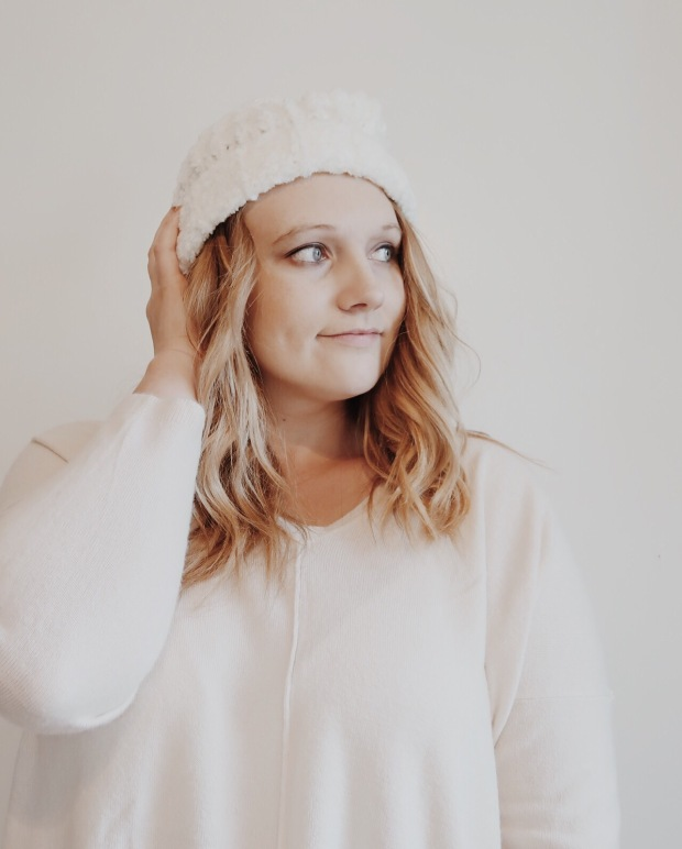 cozy sweater for winter fashion style cream color