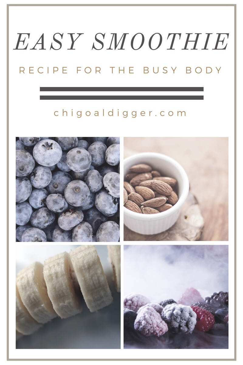 Easy Smoothie Recipe For The BusyBody